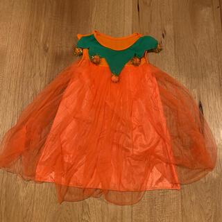 クレアーズ(claire's)の女の子 かぼちゃ ワンピース パンプキン ハロウィン 仮装(衣装)