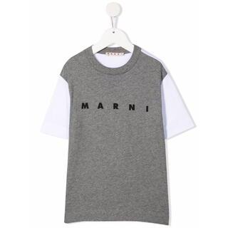マルニ(Marni)のMARNI マルニ  キッズ チルドレン  ロゴTシャツ (Tシャツ(半袖/袖なし))