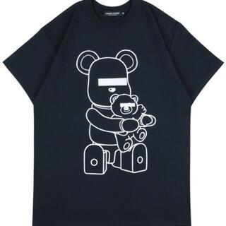 メディコムトイ(MEDICOM TOY)のbe@rtee undercover L black(Tシャツ/カットソー(半袖/袖なし))