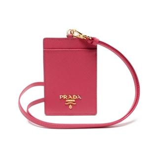 プラダ(PRADA)のプラダ PRADA パスケース 定期入れ  レザー 1MC007 レディース(パスケース/IDカードホルダー)