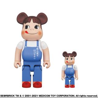 メディコムトイ(MEDICOM TOY)のBE@RBRICK ペコちゃん  100% & 400%(フィギュア)