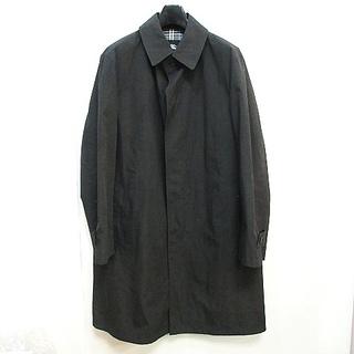 バーバリーブラックレーベル(BURBERRY BLACK LABEL)のバーバリーブラックレーベル ステンカラー コート ポリエステル グレー L(ステンカラーコート)