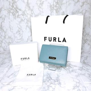 フルラ(Furla)の★超レア★ 高級感漂うレザー★FURLA 三つ折り財布 レディース(財布)