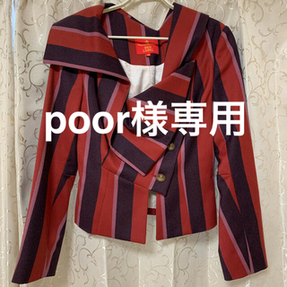 Vivienne Westwood - Vivienne Westwood 変形襟ジャケット