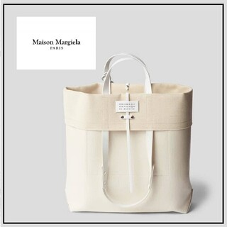 マルタンマルジェラ(Maison Martin Margiela)のMaisonMargielaロゴトートバッグフォールドオーバーメゾンマルジェラ(トートバッグ)