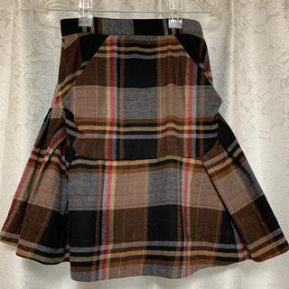 ヴィヴィアンウエストウッド(Vivienne Westwood)のVivienne Westwood Anglomania 変形スカート(ミニスカート)
