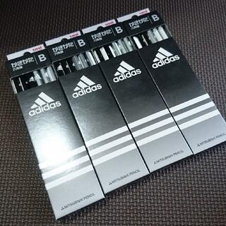 アディダス(adidas)のアディダス かきかた鉛筆 B 4ダース 48本(鉛筆)