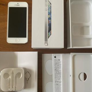 アップル(Apple)のiPhone5 32GB 箱あり(スマートフォン本体)