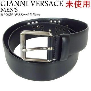 ジャンニヴェルサーチ(Gianni Versace)のジャンニ ヴェルサーチ 未使用 メンズ #90/36 レザー ベルト(ベルト)