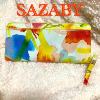サザビー(SAZABY)の【SAZABY】半額SALE中❗️ 長財布 財布 サザビー (財布)