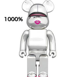 BE@RBRICK SORAYAMA 2G SILVER Ver. 1000% (その他)