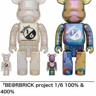 メディコムトイ(MEDICOM TOY)のBE@RBRICK project 1/6 100% & 400%(キャラクターグッズ)