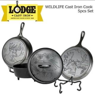 Lodge - LODGE スキレット ダッチオーブン 鋳鉄鍋 フライパン ロッジ