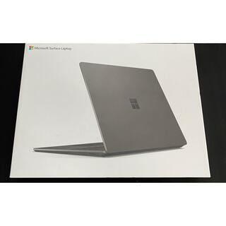 マイクロソフト(Microsoft)のMS SurfaceLaptop3 13.5 ブラック V4C-00039(ノートPC)