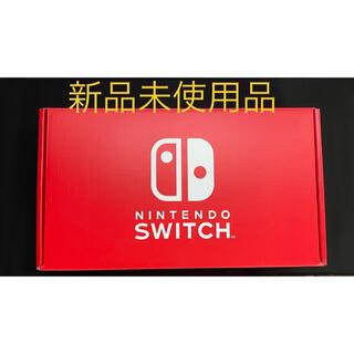 ニンテンドースイッチ(Nintendo Switch)の【新品】NINTENDO SWITCH ストア版 レッド(家庭用ゲーム機本体)