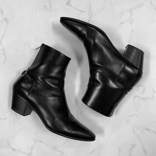 セリーヌ(celine)のCELINE JACNO 60mm back zipped boots(ブーツ)