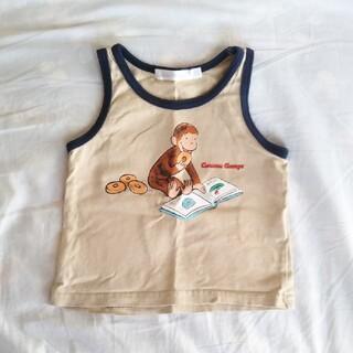 おさるのジョージ タンクトップ 90(Tシャツ/カットソー)