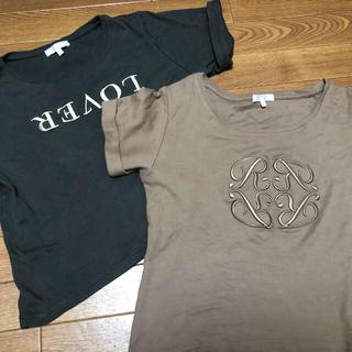 リエンダ(rienda)のrienda💓Tシャツ2枚(Tシャツ/カットソー(半袖/袖なし))