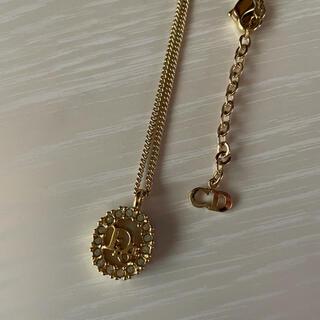 クリスチャンディオール(Christian Dior)のC.ディオール  ネックレス ラインストーン ペンダント 2106-391 中古(ネックレス)