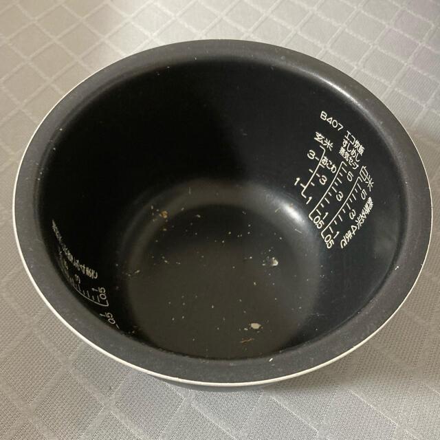 象印(ゾウジルシ)の象印部品:なべ/B407-6B圧力IH炊飯ジャー用 スマホ/家電/カメラの調理家電(炊飯器)の商品写真