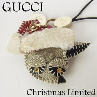 Gucci - グッチ グッチョリ クリスマス限定品 サンタ チワワ 携帯 ストラップ チャーム
