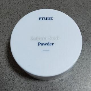 エチュードハウス(ETUDE HOUSE)のエチュードシーバムコントロールパウダー(フェイスパウダー)