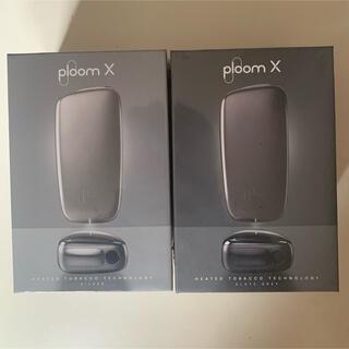 プルームテック(PloomTECH)の送料無料 プルームX (Ploom X)スターターキット2箱セット(タバコグッズ)