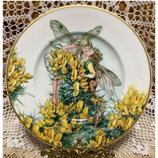 ビレロイアンドボッホ(ビレロイ&ボッホ)のVilleroy&Bochシシリーメアリーバーカー花の妖精【Gorse】 飾り皿(置物)
