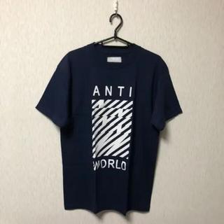 ナンバーナイン(NUMBER (N)INE)のNUMBER NINE ANTI WORLD プリントtシャツ(Tシャツ/カットソー(半袖/袖なし))
