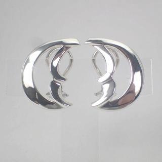 ティファニー(Tiffany & Co.)のティファニー SV925 クレセントムーン イヤリング[g526-9](イヤリング)