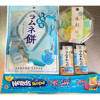 琥珀糖 ラムネ餅 ラムネわらび ナーズロープキャンディ YouTube 人気 (菓子/デザート)