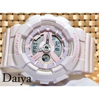 ベビージー(Baby-G)の新品 CASIO カシオ 正規品 BABY-G ベビーG アナデジ 腕時計 ピン(腕時計)