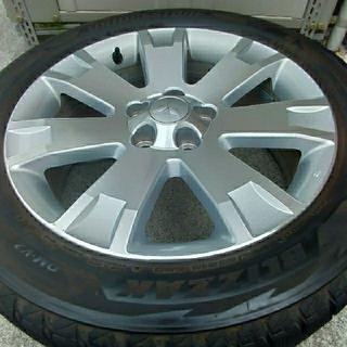 三菱 - 三菱 純正 18インチ アルミホイール タイヤセット