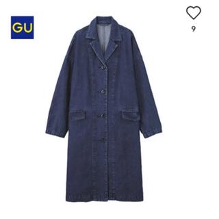 ジーユー(GU)のGU  デニムチェスターコート ジャケット(チェスターコート)
