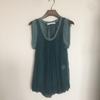 ルシェルブルー(LE CIEL BLEU)のルシェルブルー38サイズ(シャツ/ブラウス(半袖/袖なし))