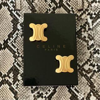 セリーヌ(celine)の良品✨CELINE ❤️ ヴィンテージ 大ぶり イヤリング(イヤリング)