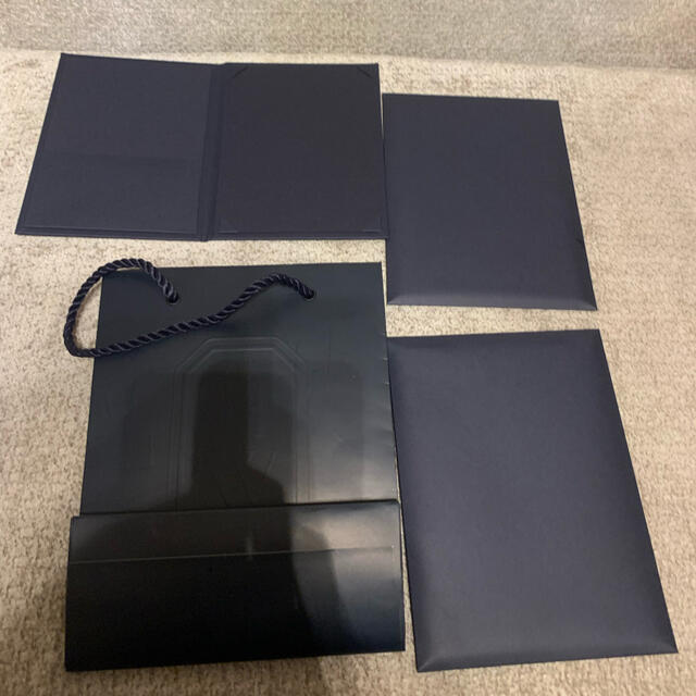 HARRY WINSTON(ハリーウィンストン)のハリーウィンストン ショップ袋、封筒4点セット レディースのバッグ(ショップ袋)の商品写真