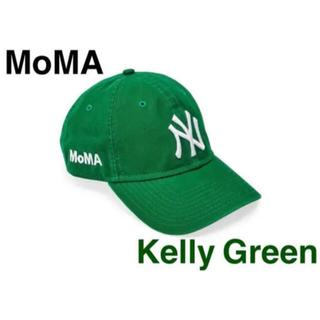 モマ(MOMA)の【新品・未使用】NY ヤンキースキャップ グリーン MoMA Edition(キャップ)