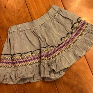 アナスイミニ(ANNA SUI mini)のアナスイミニ  110cm  スカート キュロット パンツ(スカート)