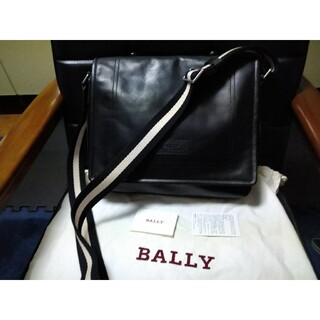 バリー(Bally)のバリー正規品ショルダーバッグブラックtepolt新品(ショルダーバッグ)