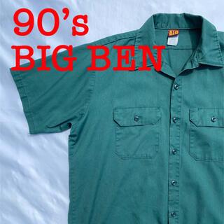 ベンデイビス(BEN DAVIS)の90s BIG BEN ワークシャツ 半袖シャツ ワークウェア ヴィンテージ(シャツ)