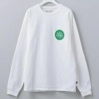 ビューティアンドユースユナイテッドアローズ(BEAUTY&YOUTH UNITED ARROWS)のSLOPPY FAST FOODS T-SHIRT/Tシャツ ロンt roku(Tシャツ(長袖/七分))