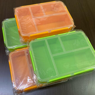 イトウエン(伊藤園)の伊藤園 ちびまる子ちゃん スマート栄養ランチボックス 4個セット(弁当用品)