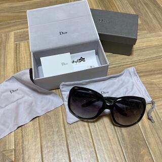 ディオール(Dior)の【新品 未使用品】Dior サングラス ブラック(サングラス/メガネ)