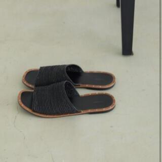トゥデイフル(TODAYFUL)のBlade Slide Sandals'ブレードスライドサンダル(サンダル)