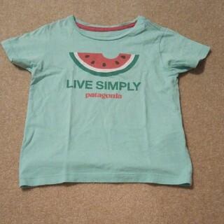 パタゴニア(patagonia)のパタゴニア すいか ミントグリーン 半袖 tシャツ 2t 80 90(Tシャツ)