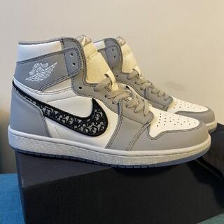 ディオール(Dior)のDior x Air Jordan 1 High OG CN8607 002(その他)