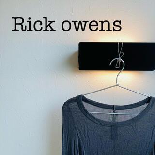 リックオウエンス(Rick Owens)のRick owens リックオウエンス ガーゼカットソー シャツ(Tシャツ/カットソー(七分/長袖))