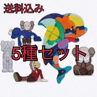 メディコムトイ(MEDICOM TOY)のKaws Tokyo First kaws puzzle パズル 5種セット (その他)