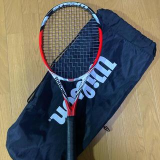 ウィルソン(wilson)の硬式テニスラケット ウィルソン スチーム100 wilson steam100(ラケット)